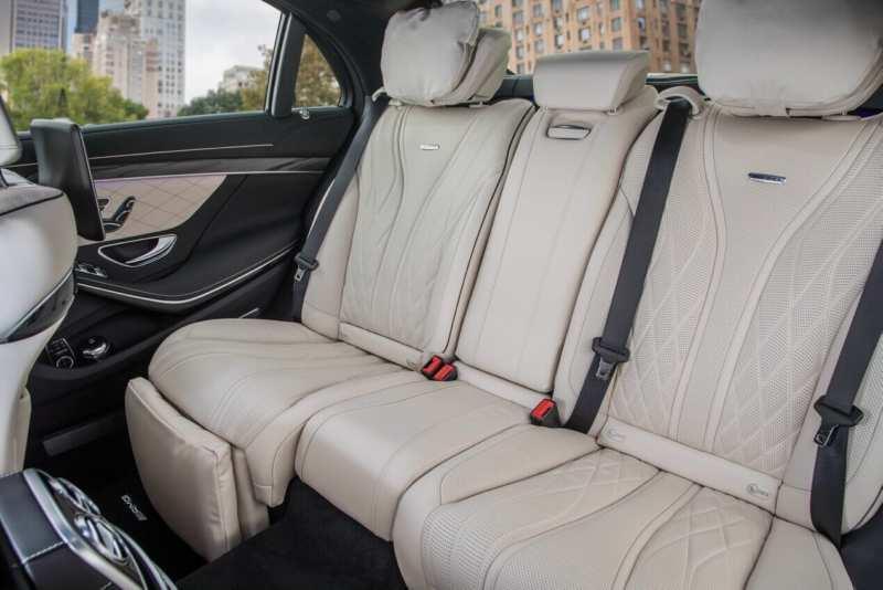 Mercedes-Benz S-Class Rear Row