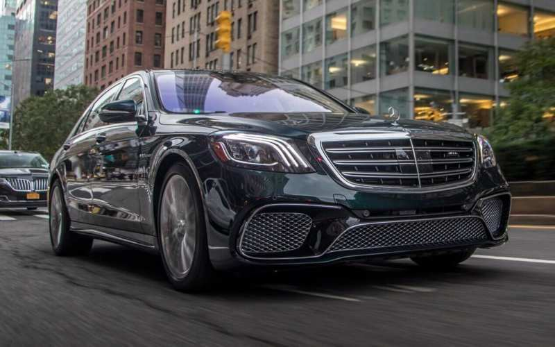 Front view of the Mercedes-Benz S-Class