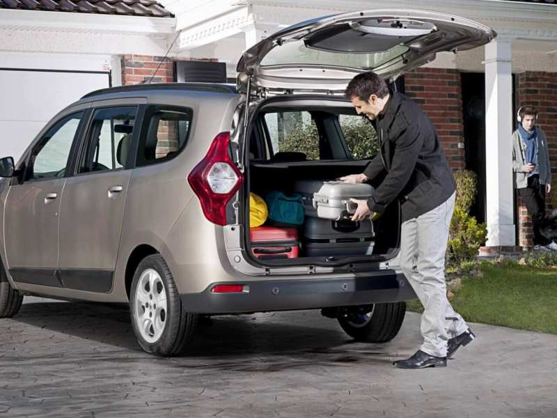 Renault Lodgy trunk
