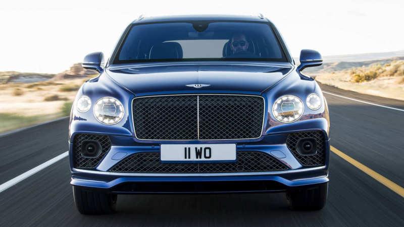 Front view Bentley Bentayga