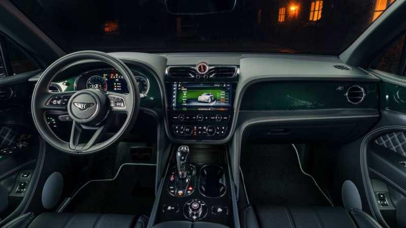 Interior Bentley Bentayga 2021