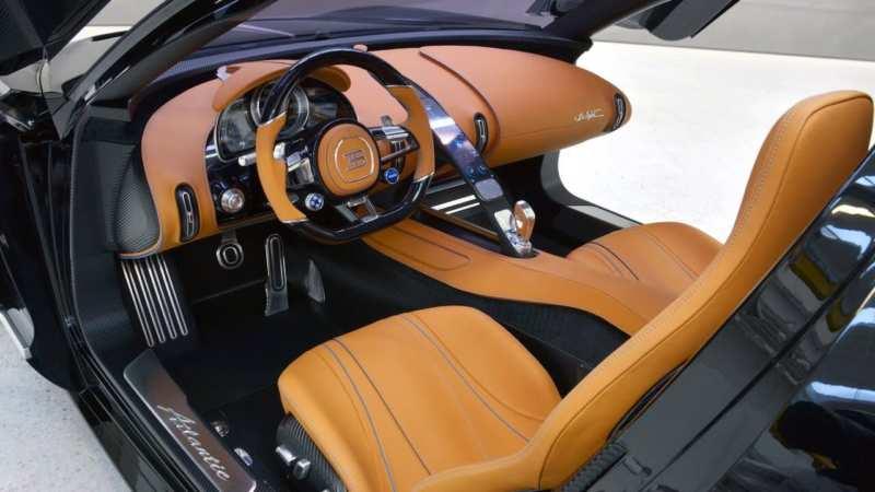 Interior Bugatti Atlantic