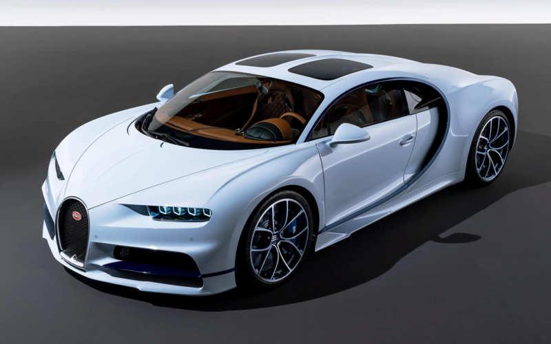Sports car Bugatti Chiron