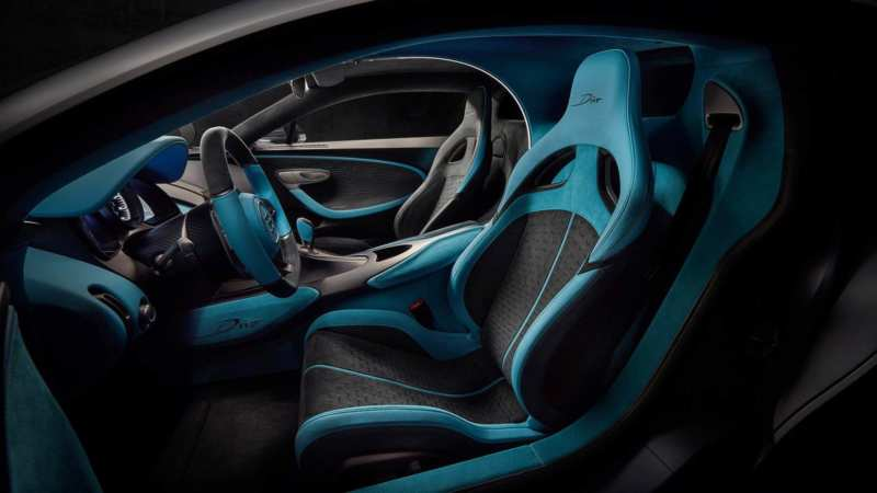 Bugatti Divo Interior