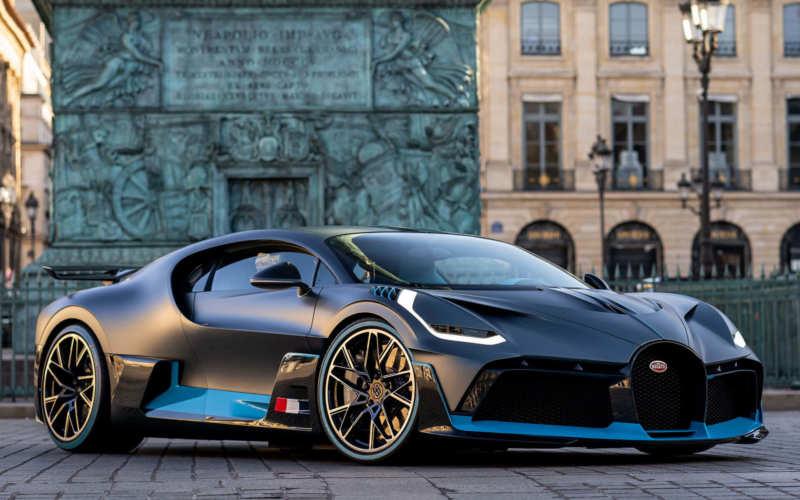 Supercar Bugatti Divo