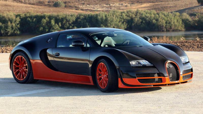Bugatti Veyron Super Sport car photo