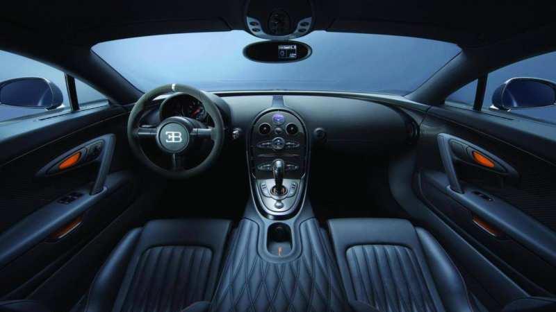 Interior Bugatti Veyron Super Sport