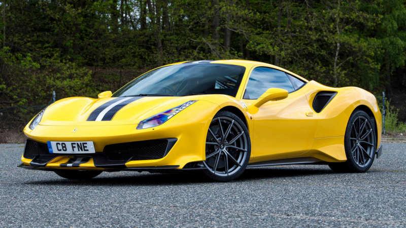 Ferrari 488 Pista car photo