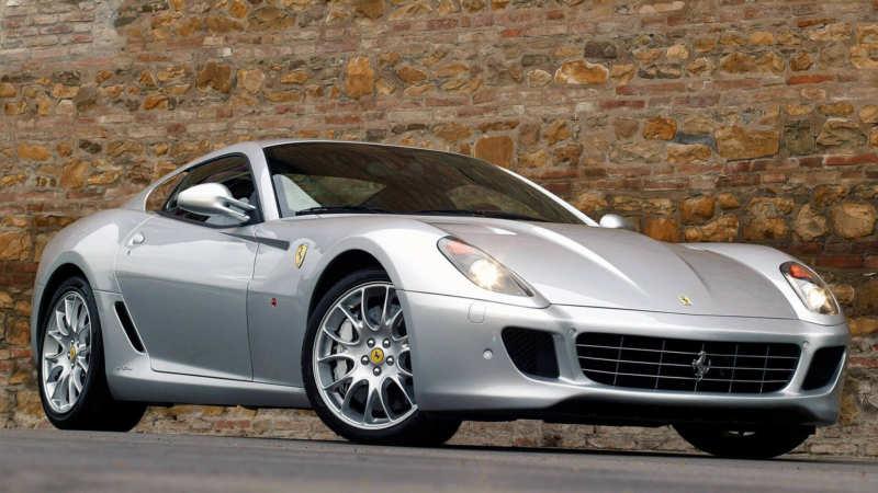Photos of the car Ferrari 599