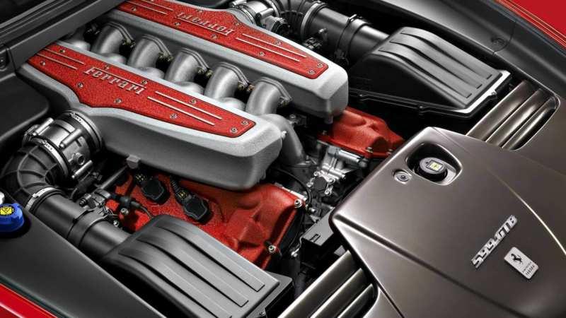Powertrain Ferrari 599
