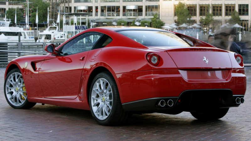 Ferrari 599 GTB Fiorano photo car