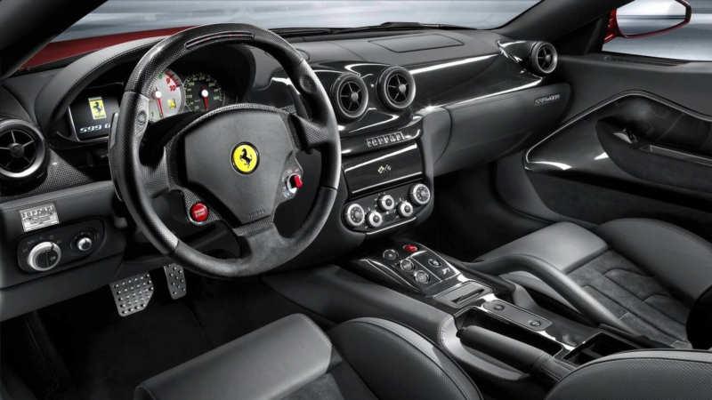 Interior Ferrari 599 GTB Fiorano