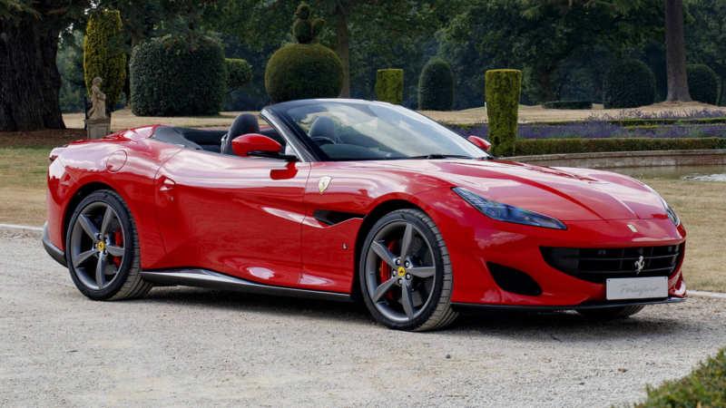 Ferrari Portofino car photos