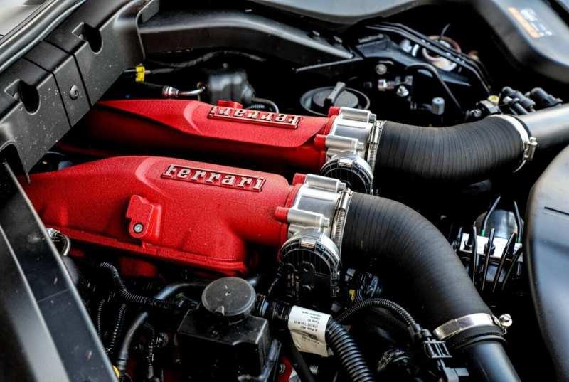 Ferrari Portofino Powertrain