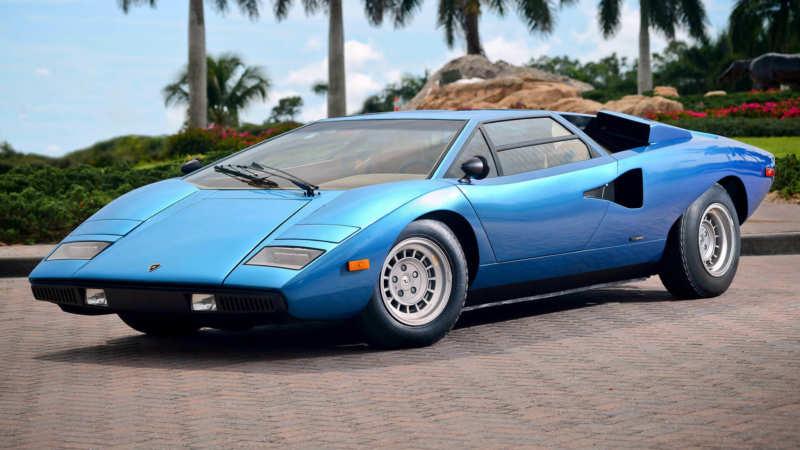 Lamborghini Countach car photo