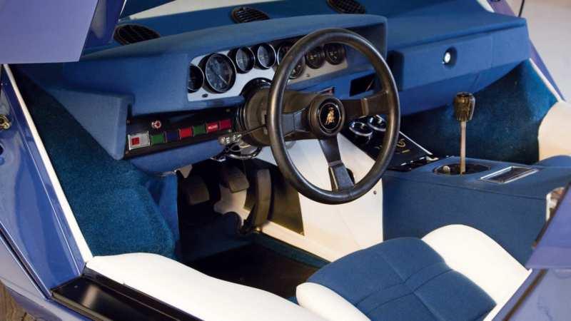 Interior Lamborghini Countach