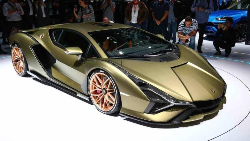 Lamborghini Sian car photo