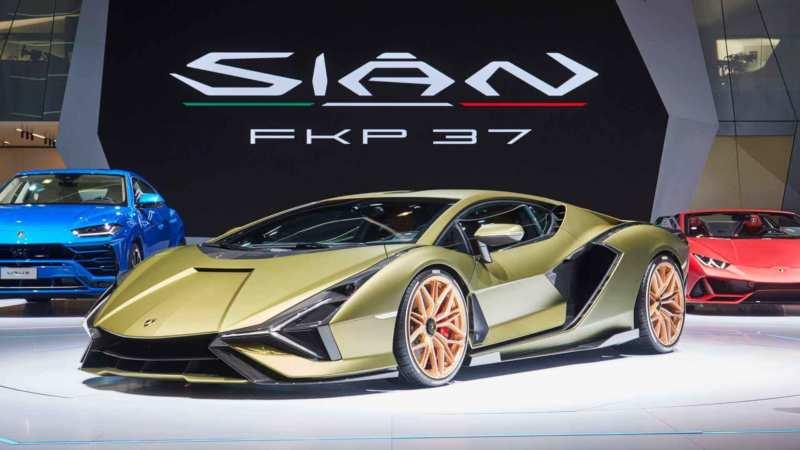 Supercar Lamborghini Sian