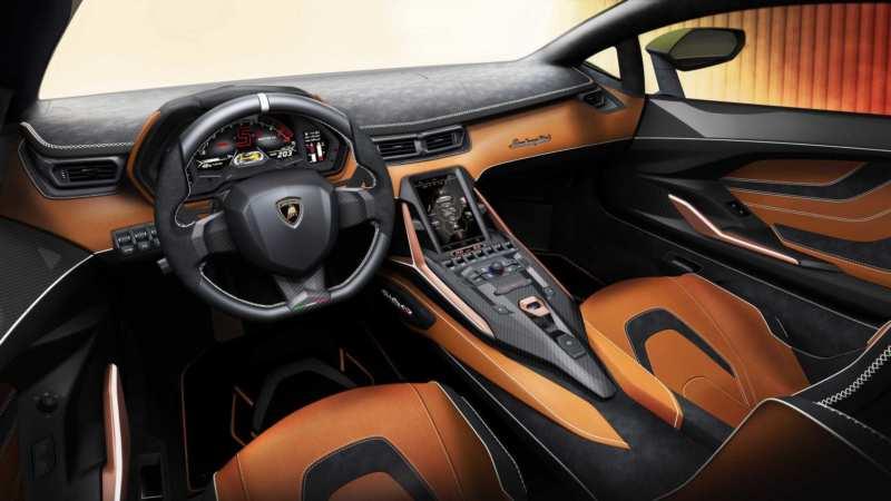 Interior Lamborghini Sian