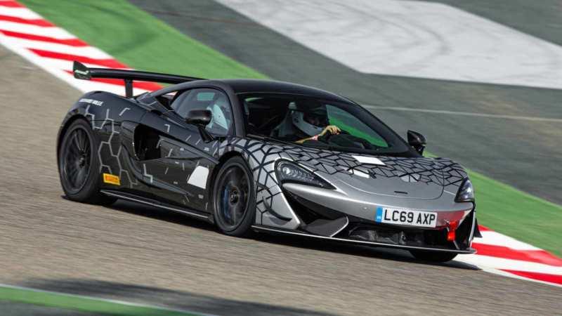 Sports car McLaren 620R
