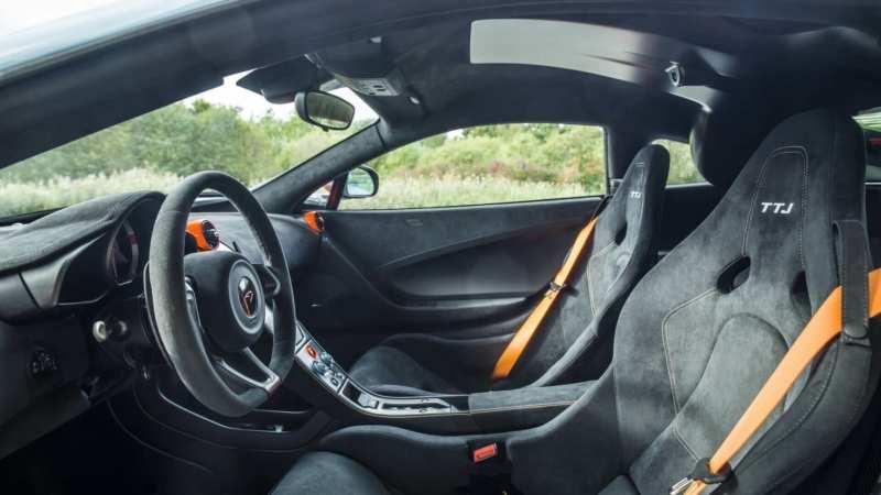 Interior McLaren 675 LT