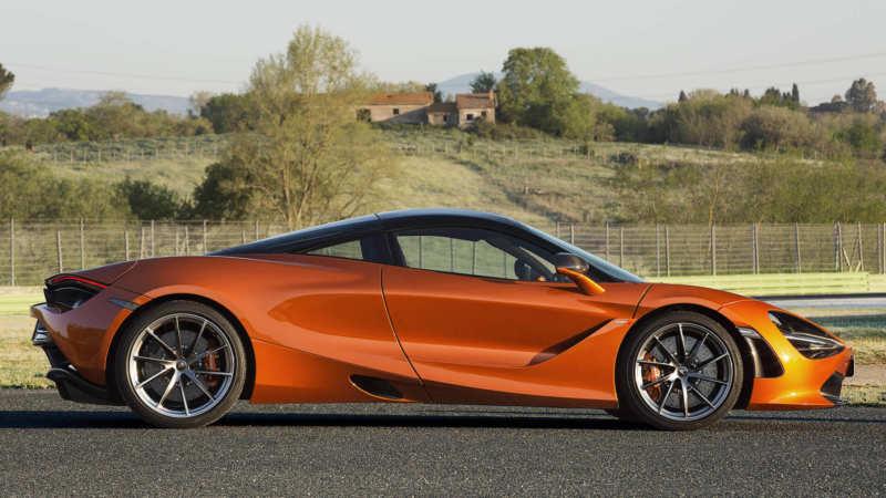 McLaren 720S side view