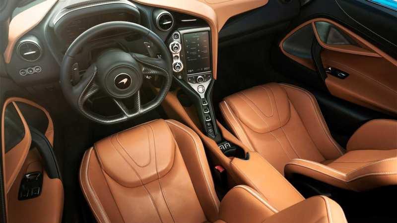 Interior McLaren 720S