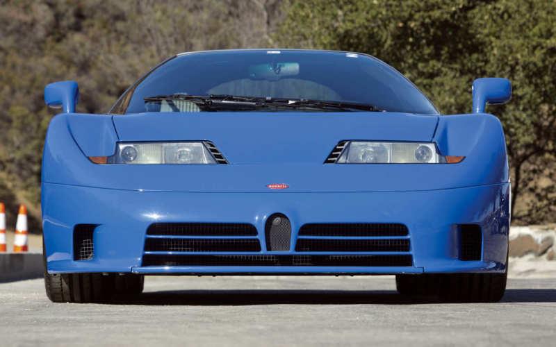 Bugatti EB110 front view
