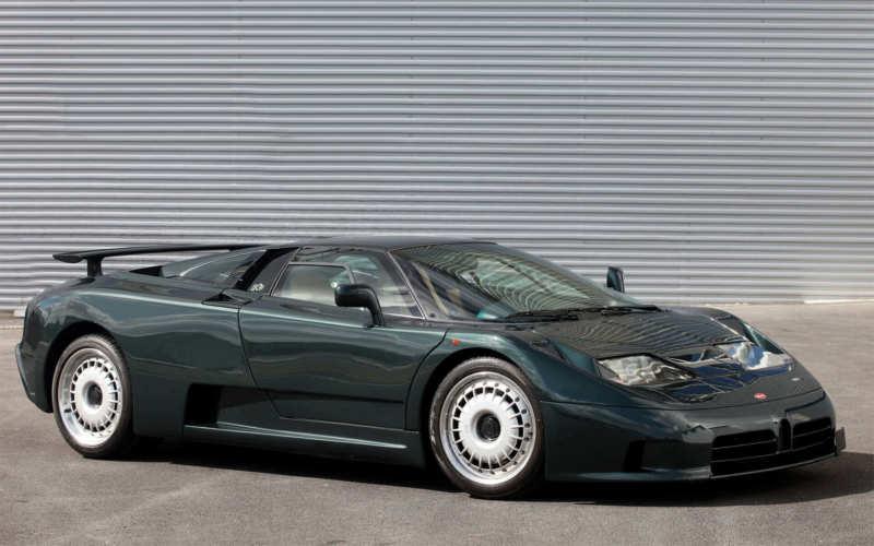 Bugatti EB110 car photo