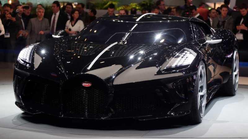 Bugatti La Voiture Noire car photo
