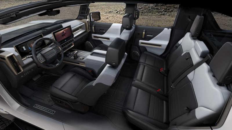 GMC Hummer EV interior photo