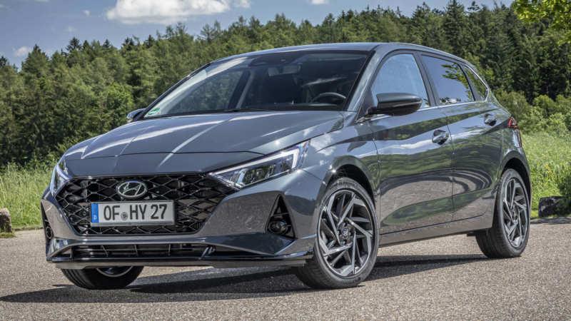 Hyundai i20 car photo