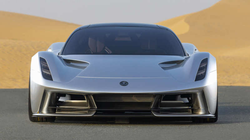 Lotus Evija front view