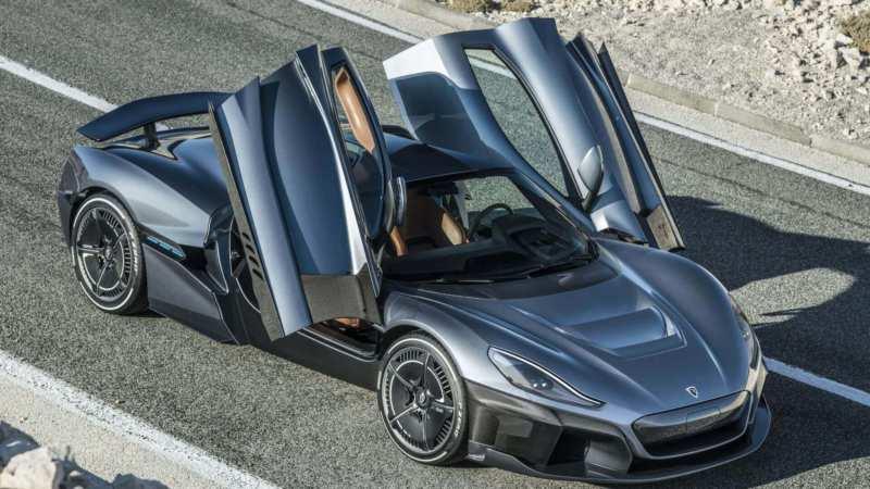 Supercar Rimac Concept Two