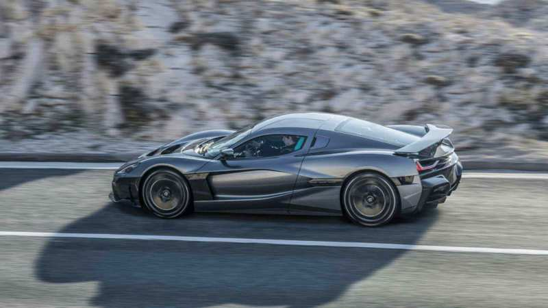 Rimac Concept Two side view