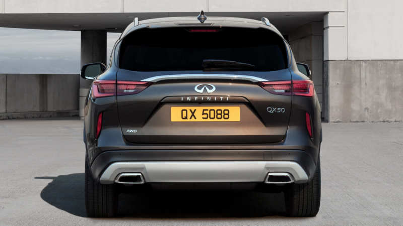 Infiniti QX50 rear view