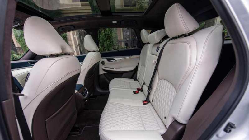 Infiniti QX50 interior photo