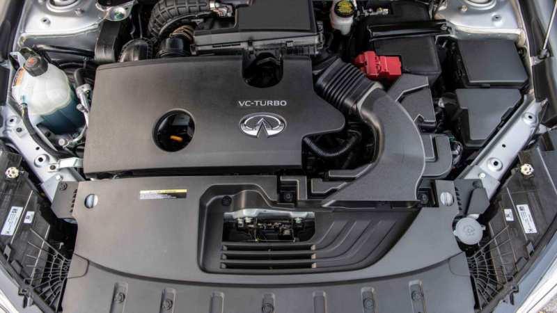 Infiniti QX50 engine