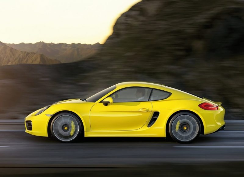 Auto Porsche Cayman 2014