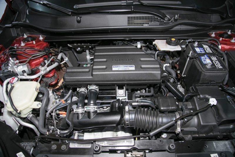 2017 Honda CR-V powertrain width=