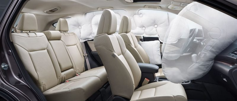 Honda CR-V airbags