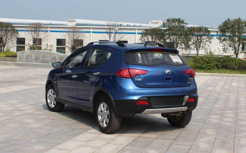 Back view Lifan X50
