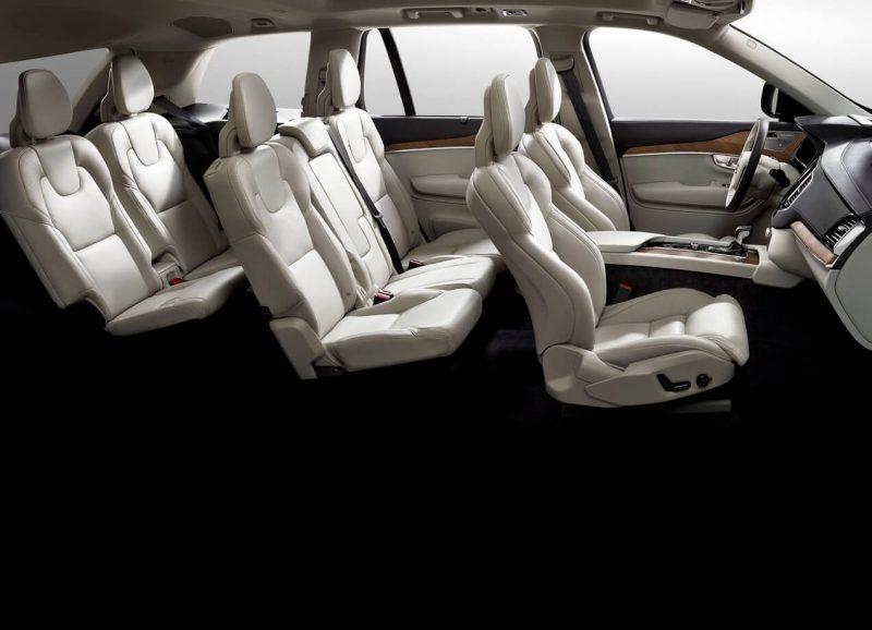 Volvo XC90 II passenger seats