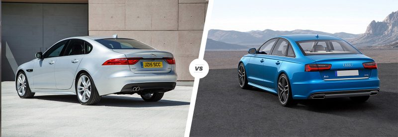 Jaguar XF or Audi A6