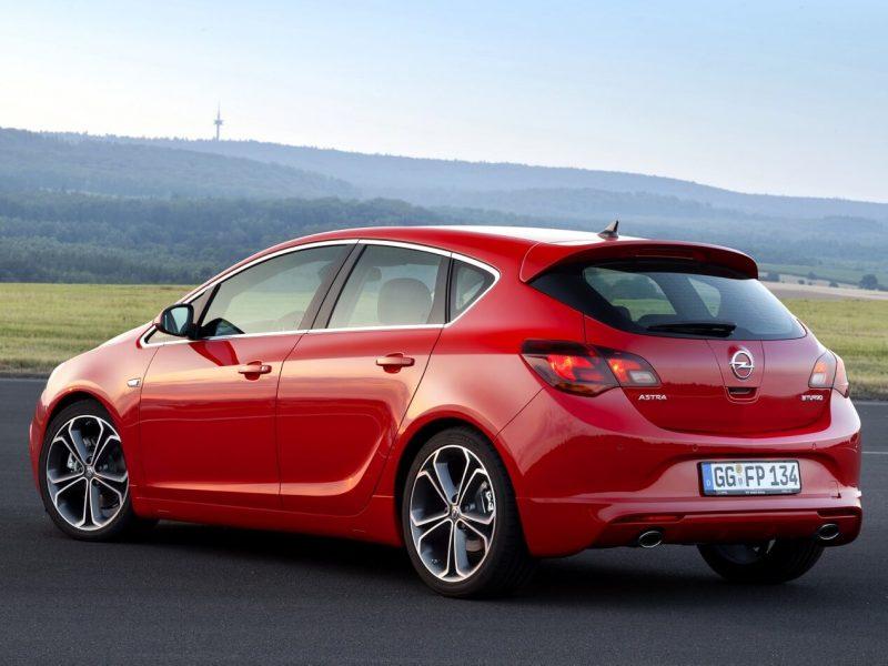 Auto Opel Astra J