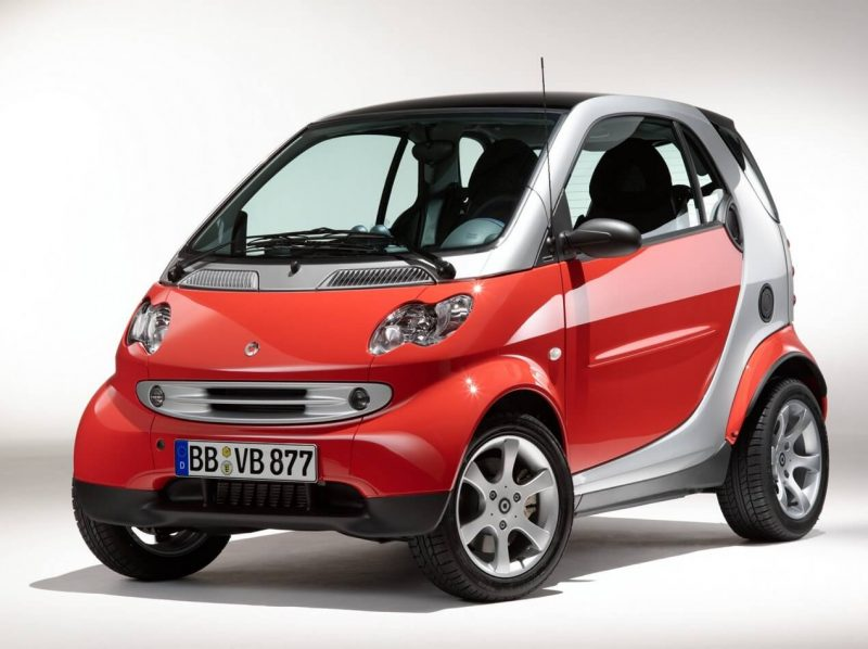 Photo of the first Smart ForTwo