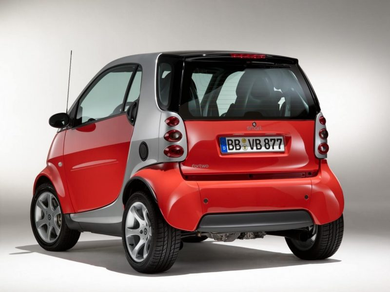 Smart ForTwo 1 rear view