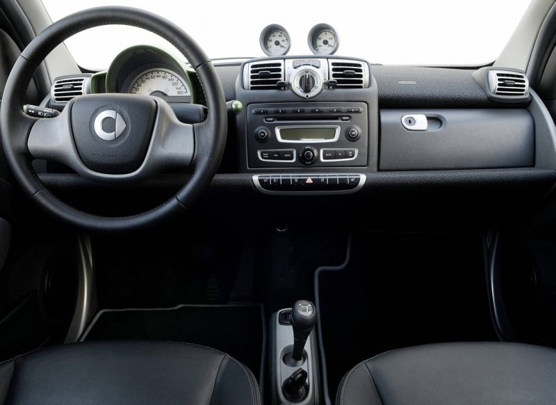 Salon of Smart fortwo electric drive